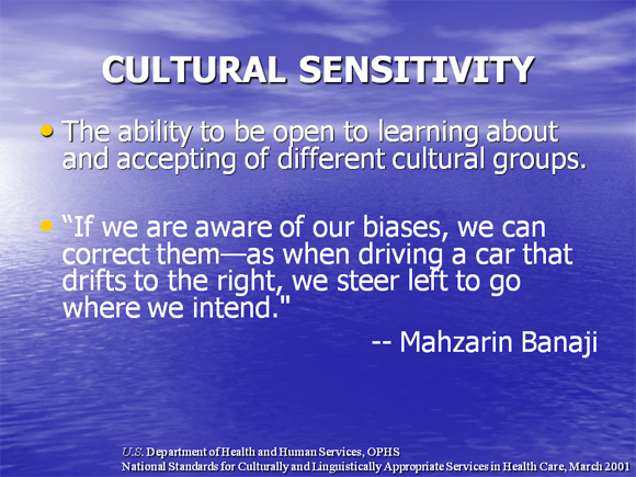 culturally sensitive counseling