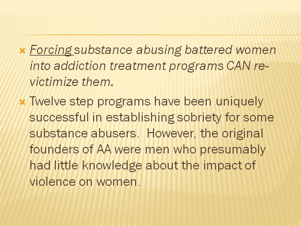 domestic violence and substance abuse pdf
